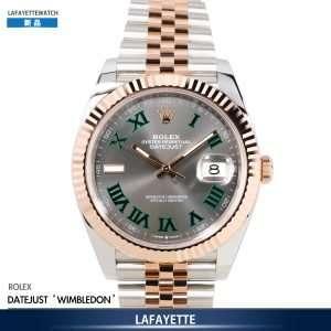 Rolex DayJust 126331 Wimbledon