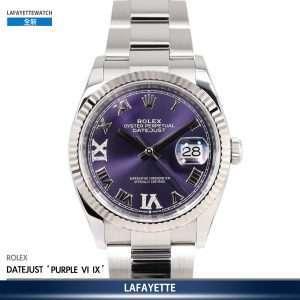 Rolex DayJust 126234 VI IX