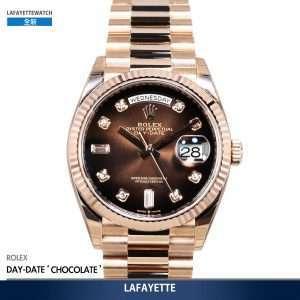 Rolex Day-Date 128235 Chocolate