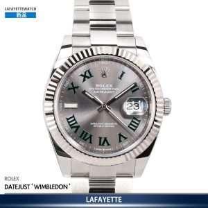Rolex DayJust 126334 Wimbledon