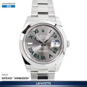 Rolex DateJust 126300 Wimbledon