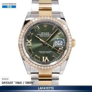 """Rolex Datejust 126283RBR VI IX """"Olive Green"""""""