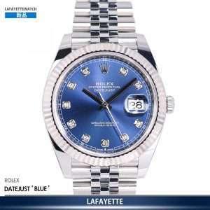 Rolex DateJust 126334G BLUE