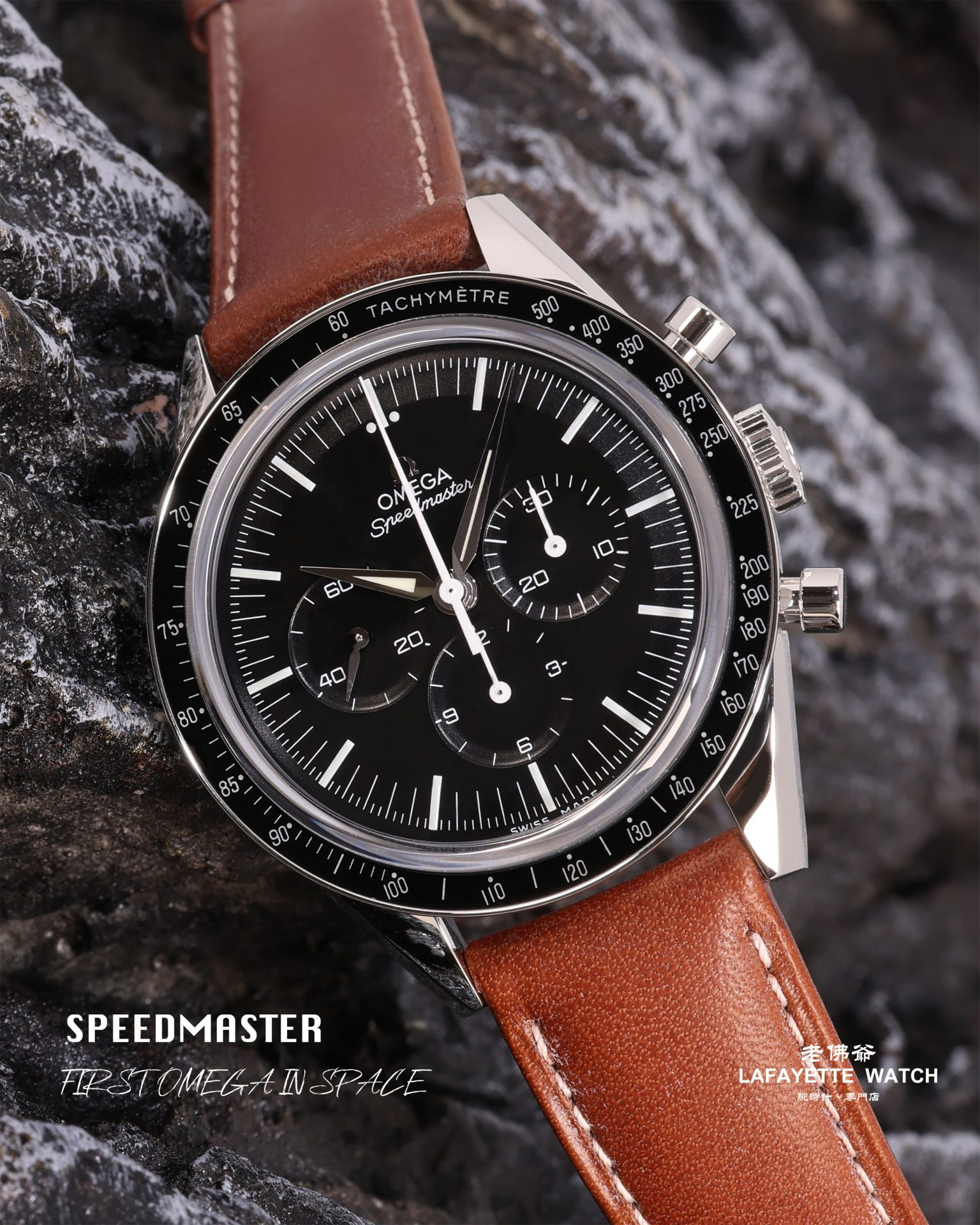 """Omega Speedmaster 311.32.40.30.01.001 """"First OMEGA In Space"""""""