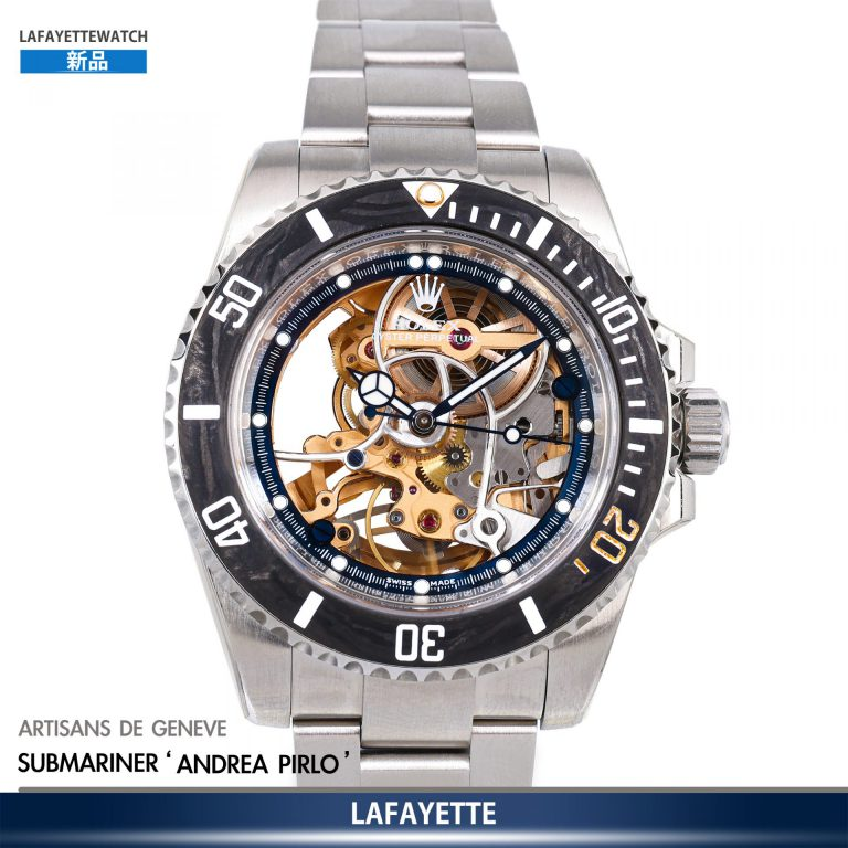 Artisans de Geneve The Andrea Pirlo Challenge Limited Editions